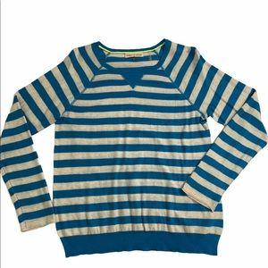 Rebecca Taylor Blue & White Stripe size Large